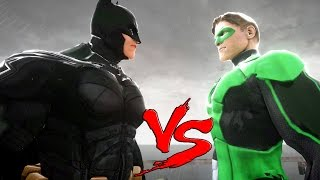 Batman v green lantern - epic superheroes battle | death fight