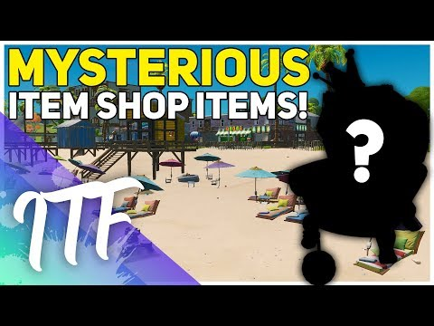 Mysterious Items In The Item Shop! (Fortnite Battle Royale)