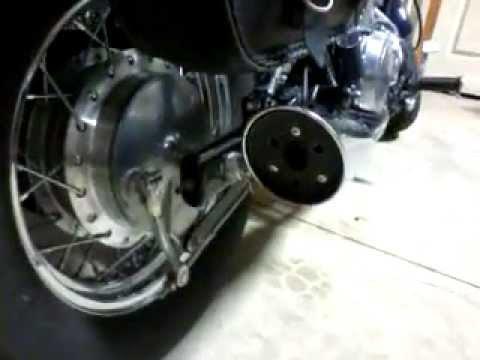 vulcan 500 exhaust modification - youtube