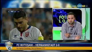 FC Botosani - FC Hermannstadt 2-0 / analiza si declaratii (Liga 1, editia 2018-2019, et 2)