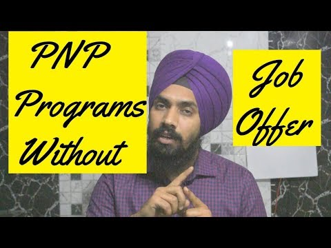 PNP Programs Without Job Offer!!! PR Canada !!!  #ShavinderSingh