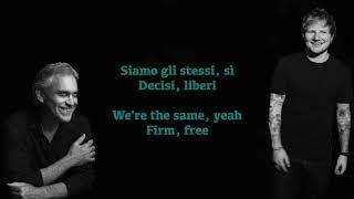 Andrea Bocelli, Amo soltanto te ft. Andrea Bocelli (lyrics & translate)
