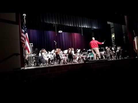 Rusk High School Band Christmas Concert 12/15/2016