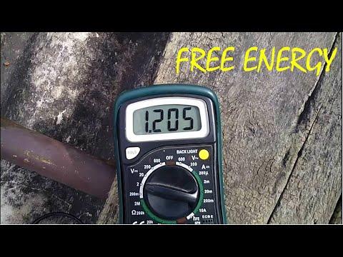 Harvesting Free energy (Radient energy)