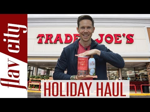 Shopping At Trader Joe's For Healthy Groceries & Holiday Items Kicked Out...Again!