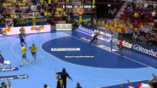Handball World Cup 2011 1st Semifinal Sweden-France 26-29 last 10 minutes