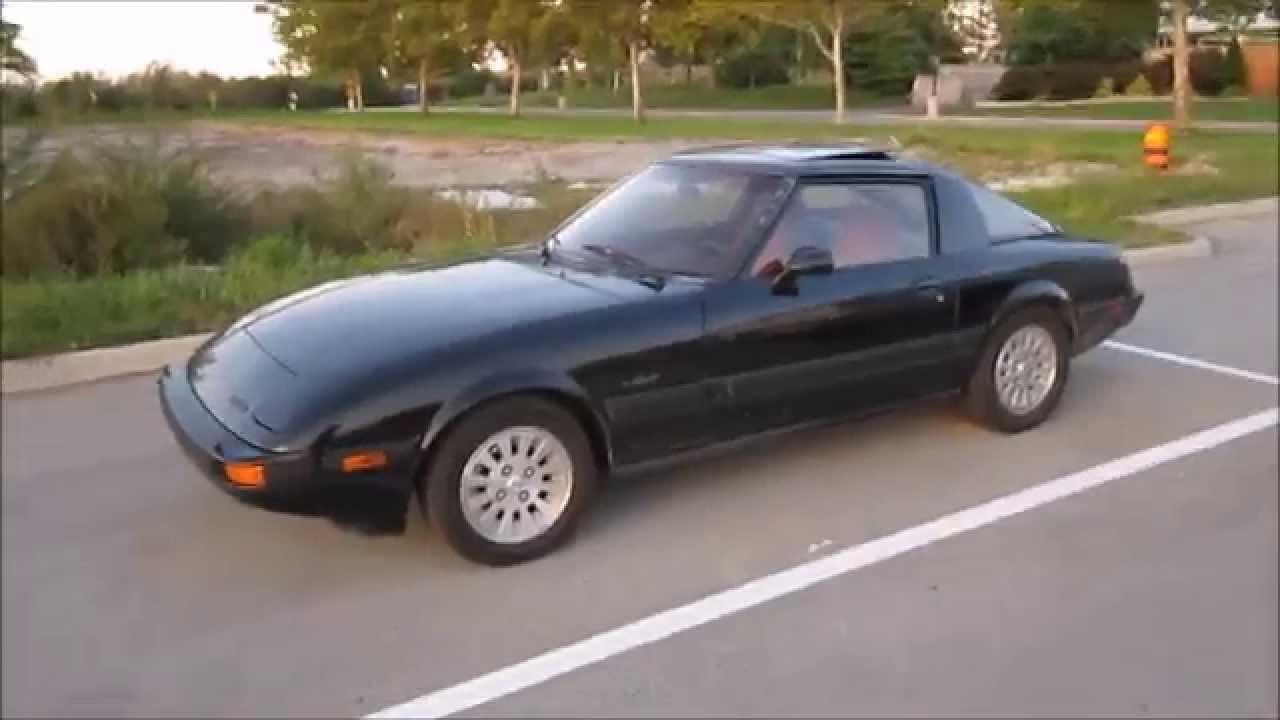 80s Mazda RX-7 sighting - YouTube