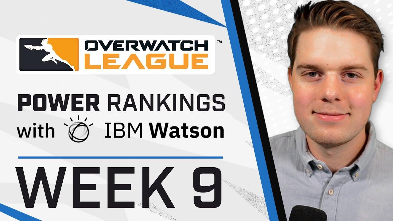 NEW Hero Rankings; Valentine BEST in the League?! | Power Rankings with IBM Watson | Week 9