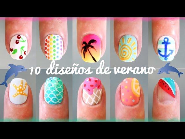 UÑAS CORTAS + 100 DISEÑOS | UÑAS DECORADAS - NAIL ART