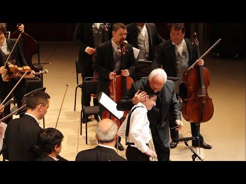 Национальный филармонический оркестр России под управлением В.Спивакова. Дмитрий Пинчук, 13 лет 🎷