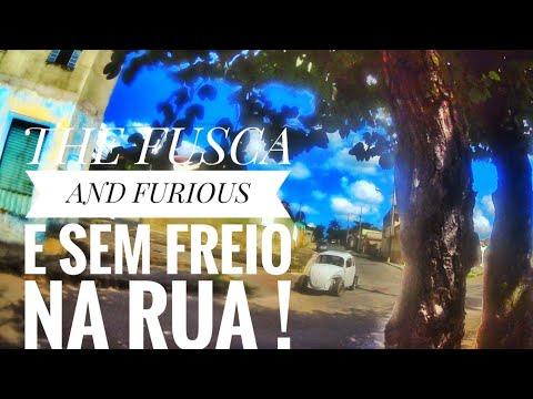 REFORME SEU FUSCA NA SUA CASA GASTANDO POUCO - PARTE 5 - SEM FREIO NA RUA .
