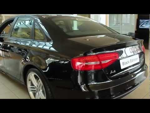 The New 2013 Audi A4 Black Edition