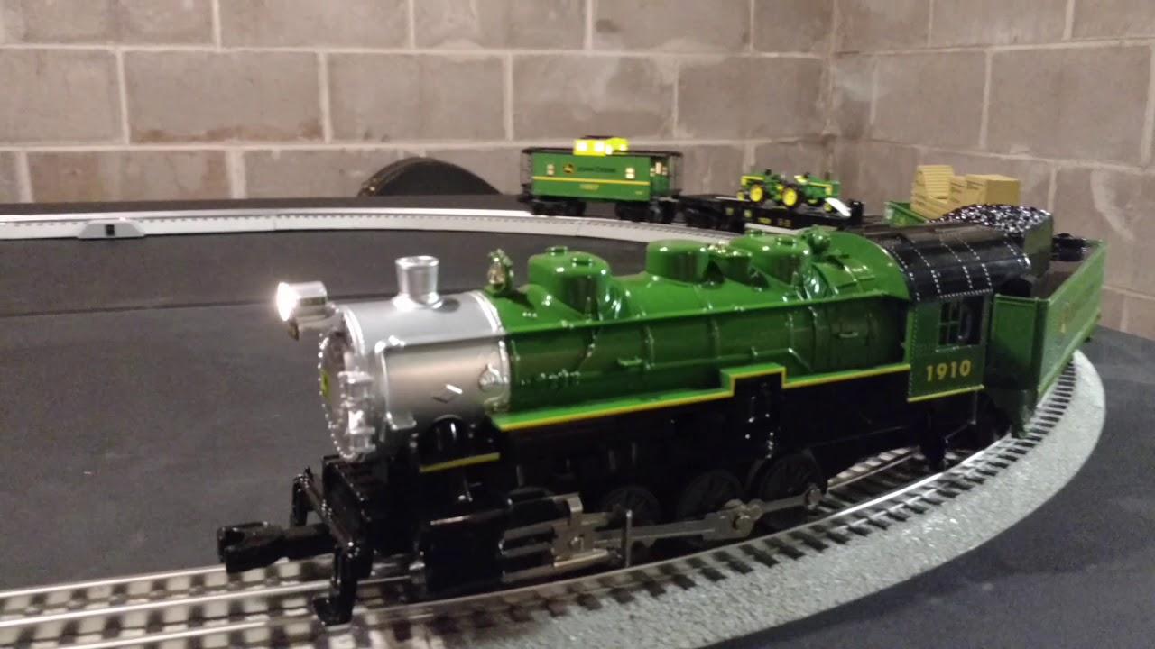 John Deere O Gauge Train Set First Run