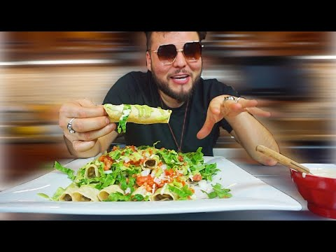 VEGAN FLAUTAS WITH CREMA | THE RAW BOY MEXICAN RECIPES