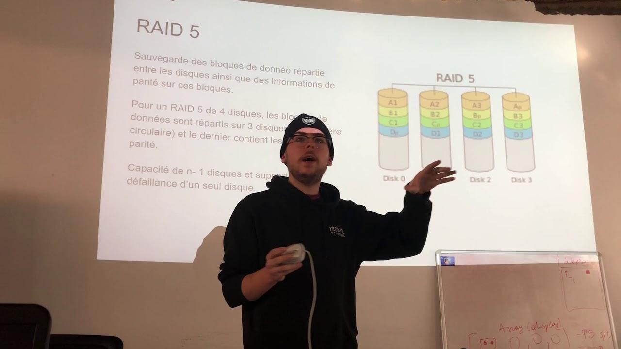 Backup et systèmes RAID - par Guillaume Dery