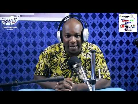 SPORTFM TV - PLATEAU FOOT EUROPE DU 17 MAI 2019 PRESENTE PAR ANGELO FOLLYKOE