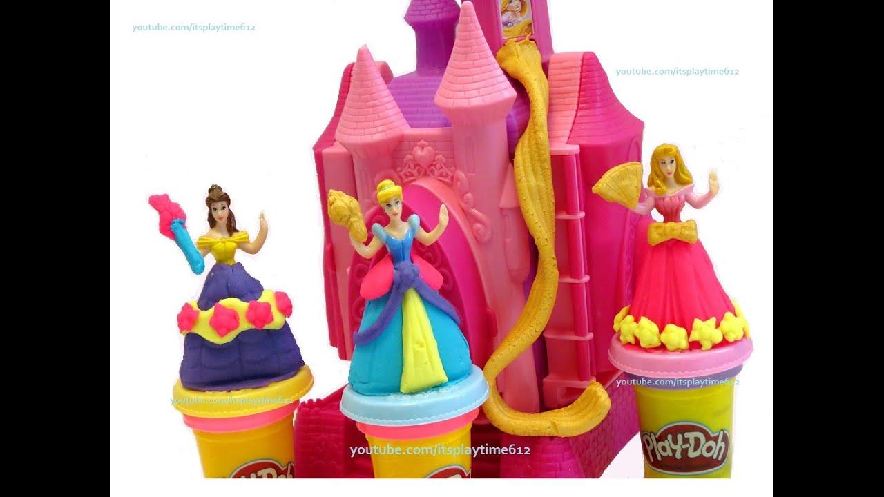 Play Doh Disney Princess Prettiest Princess Castle Itsplaytime612