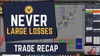 TRADE RECAP || NEVER LARGE LOSSES (BREAKING EVEN IS OKAY)
