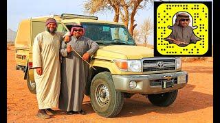 التجهيزات البرية الاحترافية في سيارة الرحالة أبو إبراهيم فهد العريني 5-2-1438هـ