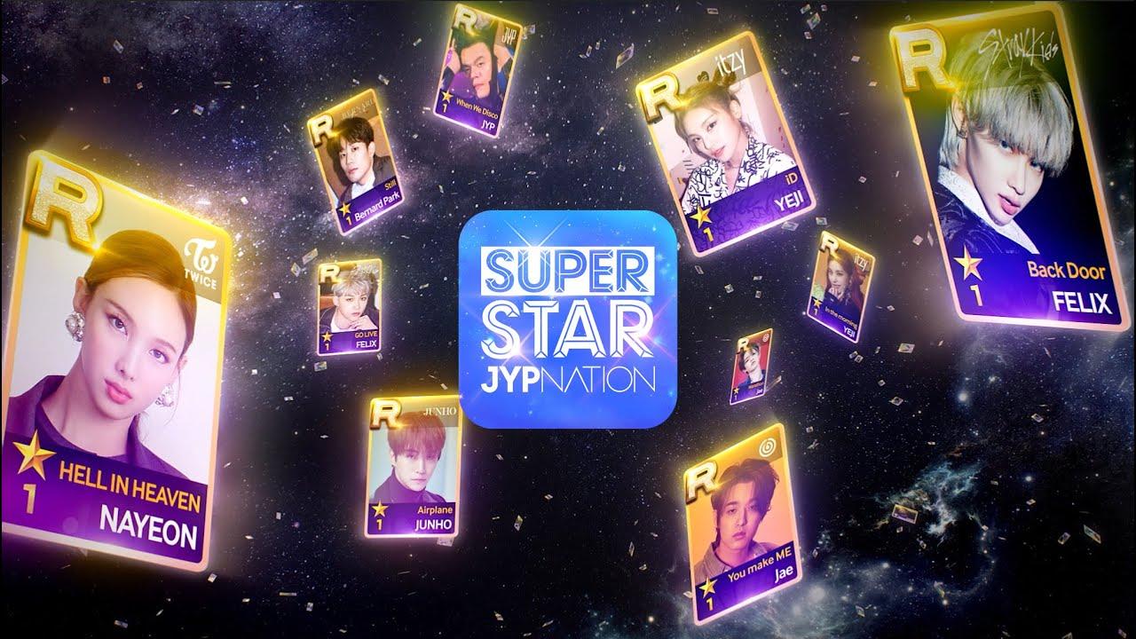 "[SSJ] PLAY YOUR STAR _SuperStarJYPNATION(15"")"