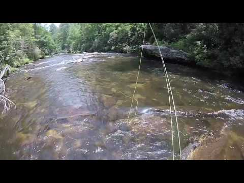 #27 Chattooga GA - Fishing the top 100 Trout Streams in America
