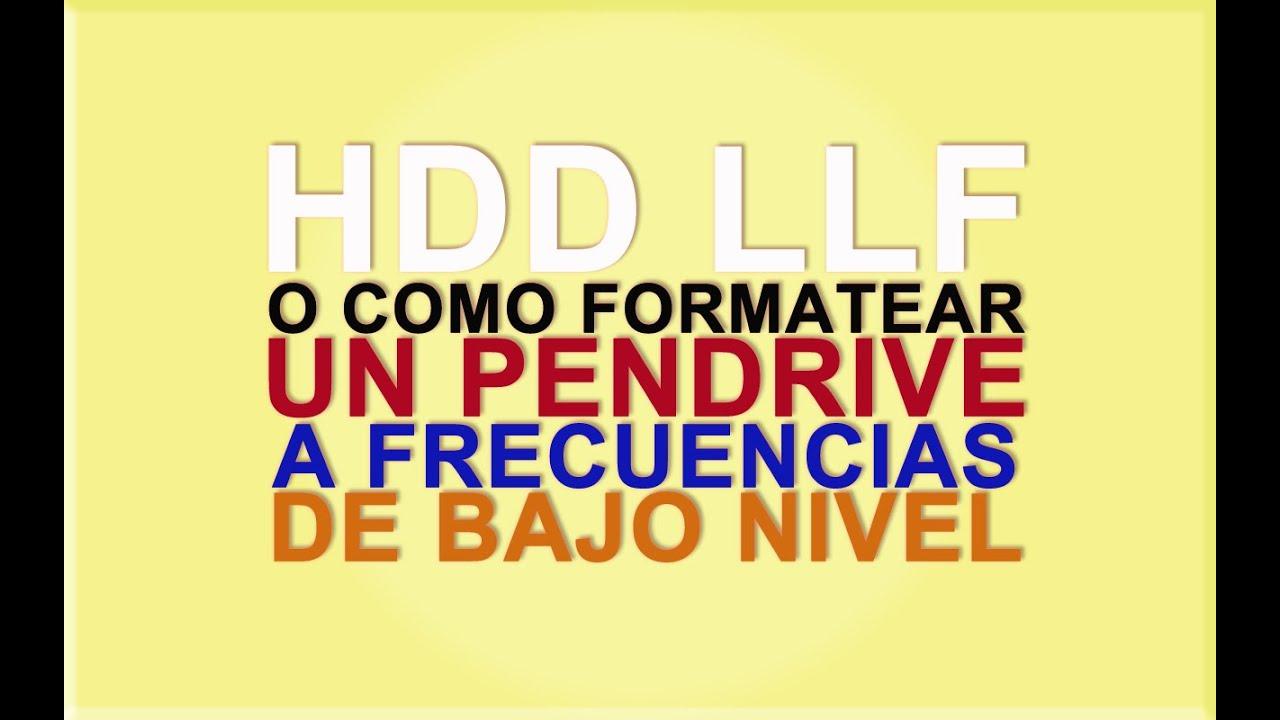 formatear hdd: