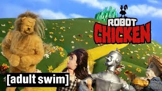 5 Moments in Oz | Robot Chicken | Adult Swim