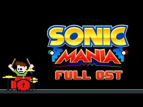 Sonic Mania OST (Drum Cover) -- The8BitDrummer