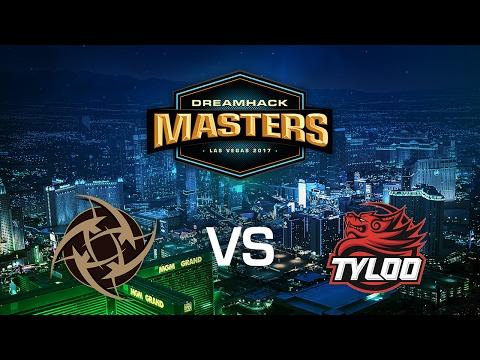 Ninjas in Pyjamas vs. Tyloo - Cobblestone - Group C - DreamHack Masters Las Vegas 2017