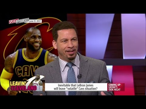 Will LeBron James leave the volatile Cleveland Cavaliers?   SPEAK FOR YOURSELF