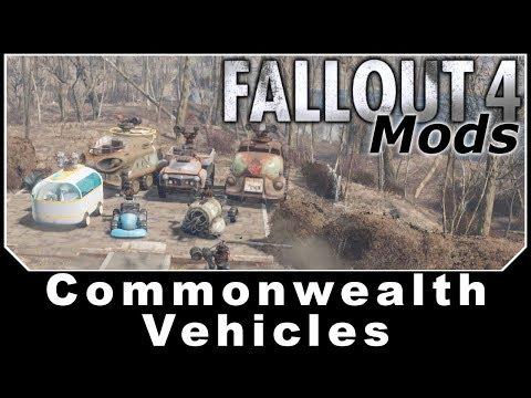 Fallout 4 Mods - CommonwealthVehicles thumbnail