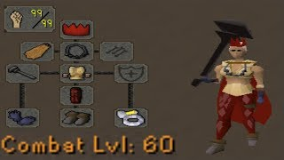 Level 60 Combat with 99 Strength (Overpowered)