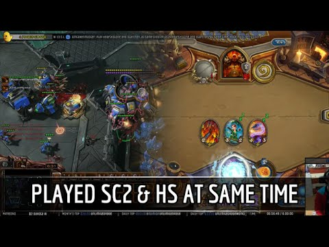 Ex starcraft pro play hearthstone and sc2 at the same time