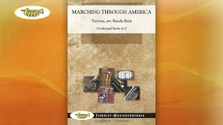 Marching Through America - Concert Band - Beck - Tierolff
