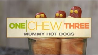 One Chew Three: Mummy Hotdogs - The Chew