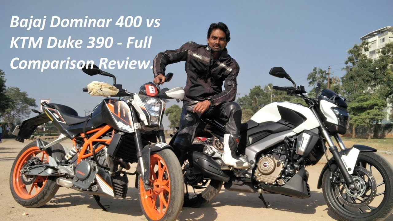 f1197cfccdb249 Bajaj Dominar 400 vs KTM Duke 390 - Full Comparison Review. - YouTube