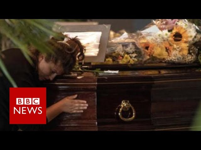 Genoa Bridge Collapse Funeral: Why are some families staying away? BBC News