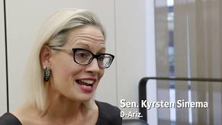 Kyrsten sinema and martha mcsally fought a tough 2018 campaign. now, they're both u.s. senators. how will they work together for arizona?read more here: http...