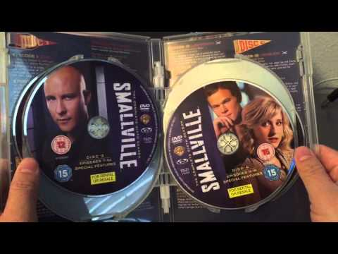 Smallville: The Complete Series DVD Unboxing - UK Edition