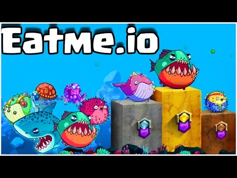 Eatme.io CRAZY MUTATED TUTRLE TOURNAMENT Agar.io Trick Splits Legendary Gameplay!!