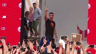 Cristiano Ronaldo starts a two-day visit to China