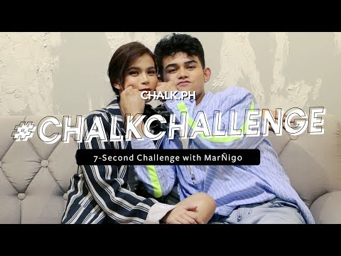 #ChalkChallenge: We Played The 7-Second Challenge With Maris Racal and Iñigo Pascual