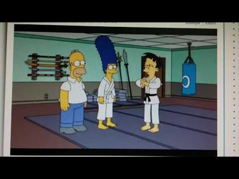 I Simpson - Marge impara il jujitsu