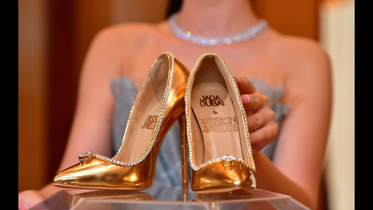 Dubai sells the worlds most expensive pair of shoes for $ 17 million