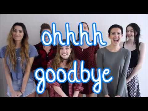 Cimorelli - Too good at goodbyes (lyrics)