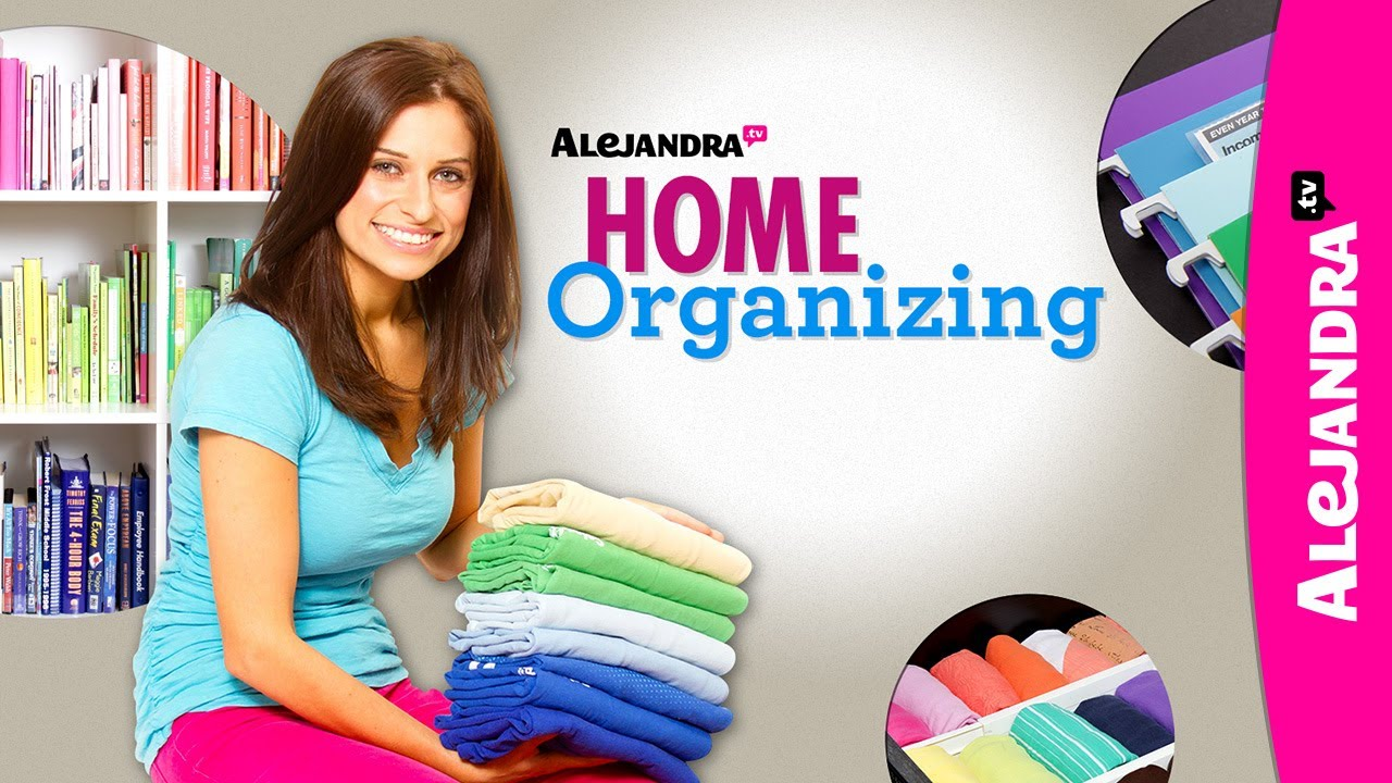 Get Organized With Alejandra Tv Trailer Youtube
