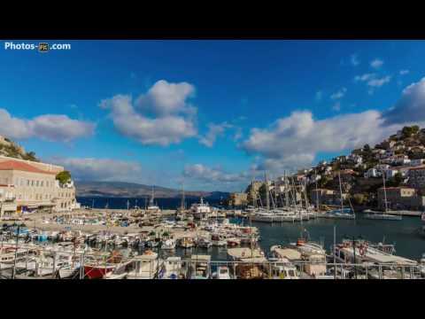 Hydra Port Greece Timelapse  19/10/2016