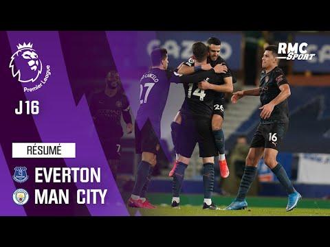 Résumé : Everton 1-3 Manchester City - Premier League (J16)