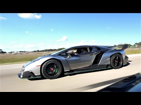 Lamborghini Veneno VS Aventador VS Huracan VS Pagani Huayra World's best supercars FLY BY