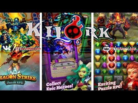 Dragon Strike  Puzzle RPG - УБИЙЦА Empires & Puzzles